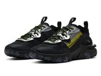 Nike React Vision全新黑灰银+反光配色曝光