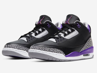 Air Jordan 3「Court Purple」宫廷紫配色篮球鞋曝光