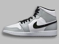 Air Jordan 1 Mid「Light Smoke Grey」配色曝光