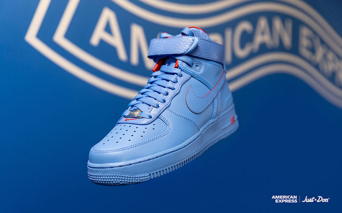 Just Don和RSVP及Nike Air Force 1 High联名款篮球鞋3