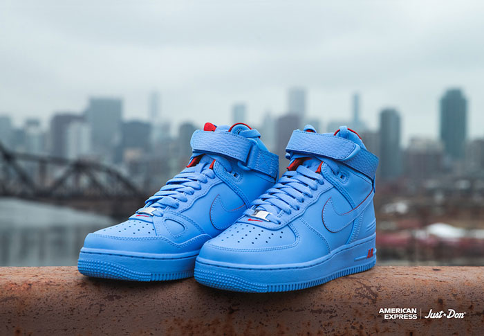 Just Don和RSVP及Nike Air Force 1 High联名款篮球鞋6