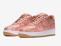 "clot和Nike Air Force 1 Low""Rose Gold""联名鞋即将发售"