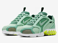 "Nike Air Zoom Spiridon Caged ""Pistachio Frost""配色曝光"