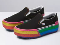 Vans Slip-On、Old Skool推出全新彩虹厚底版