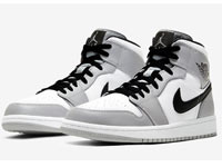 Air Jordan 1 Mid「Light Smoke Grey」配色图赏