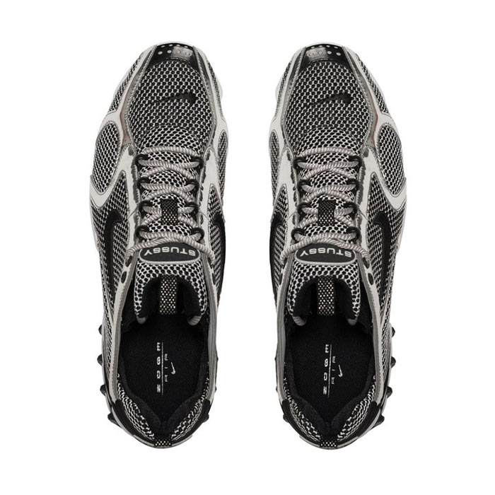 Stüssy与Nike联乘鞋Air Zoom Spiridon Caged 2