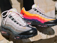 size?和Nike联名鞋air Max 95「20 for 20」即将发售