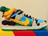Ben & Jerry's与Nike SB Dunk Low最新联名鞋预览