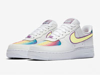 "Nike Air Force 1 Low ""Easter 2020""彩虹镭射版曝光"