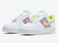 Nike Air Force 1 Low WMNS最新复活节主题配色曝光