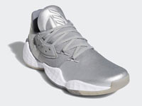 "adidas Harden Vol. 4 ""Metallic""全新银色球鞋曝光"