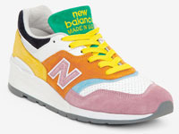 "STAUD和New Balance 997 ""Multi-Color""联名鞋曝光"