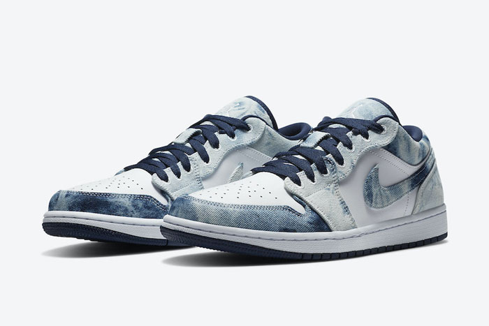 air Jordan 1 Low「Washed Denim」牛仔拼接配色曝光