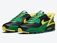 Nike Air Max 90 FlyEase全新黄绿配色鞋款曝光