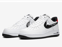 Nike Air Force 1 Low全新「Brushstroke」系列曝光