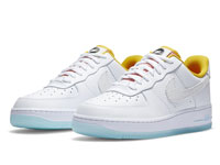 Nike air Force 1全新冰蓝底小白鞋曝光