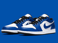 "air Jordan 1 Low ""Game Royal""风暴蓝配色曝光"