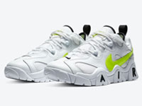 Nike air Barrage Low全新荧光绿LOGO鞋款曝光