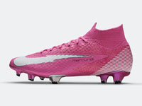 "耐克推出Mercurial Superfly ""Mbappé Rosa""足球鞋"