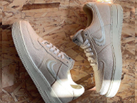 Stüssy与Nike Air Force 1新款联名鞋曝光