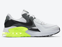Nike Air Max Excee全新黑白灰+荧光绿鞋款曝光