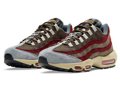 Nike Air Max 95「Freddy Krueger」配色球鞋曝光
