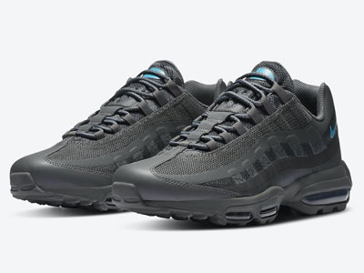 Nike Air Max 95 Ultra鞋款推出烟灰配色曝光