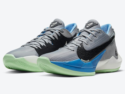 "字母哥Nike Zoom Freak 2全新""Particle Grey""球鞋下月发售"