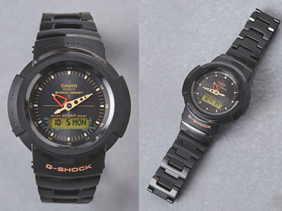 UNITED ARROWS与G-Shock联名款AW-500腕表曝光