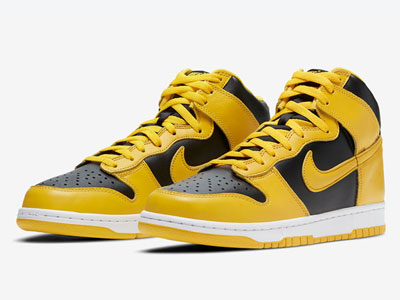 Nike Dunk High SP「Varsity Maize」黑黄色下月发售