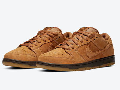"Nike SB Dunk Low ""Wheat Mocha""小麦摩卡色下月发售"