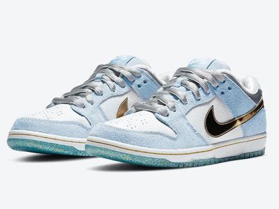 Sean Cliver与Nike SB Dunk Low联名鞋官图曝光