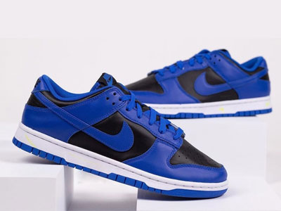 Nike Dunk Low「Hyper Cobalt」黑蓝配色曝光