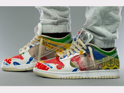 Nike Dunk Low SP「Thank You For Caring」上脚图