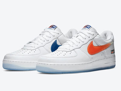 "KITH与Nike Air Force 1 Low ""NYC""联名鞋即将发售"