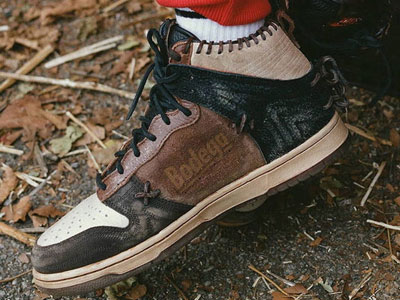 Bodega与Nike Dunk High「Fauna Brown」联名鞋月底发售