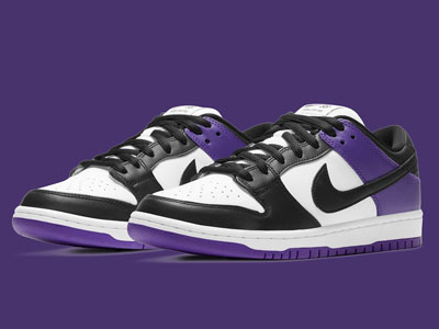 Nike SB Dunk Low「Court Purple」宫廷紫配色曝光