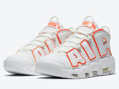 "新款Nike Air More Uptempo ""Sunset""白橙配色曝光"
