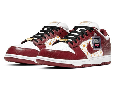 最新Supreme和Nike SB Dunk Low联名鞋「Barkroot Brown」配色曝光