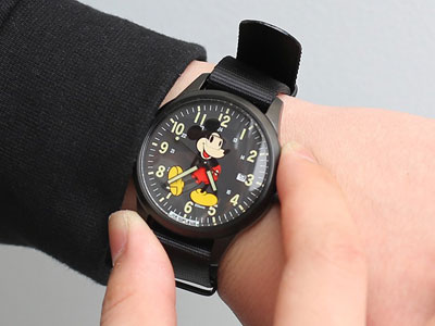 JAM HOME MADE 「MICKEY MOUSE WATCH TYPE2」腕表发售