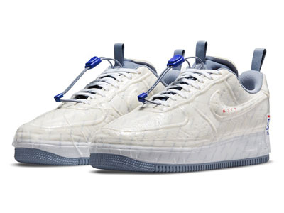 "全新Nike Air Force 1 Experimental ""USPS""蓝白配色曝光"