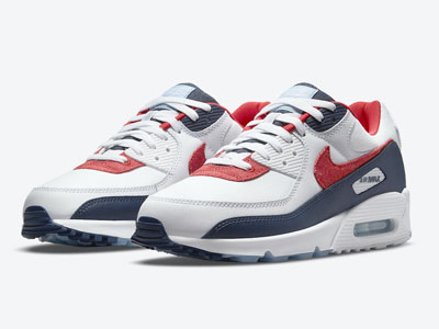 "全新Nike Air Max 90 ""USA Denim""牛仔LOGO曝光"