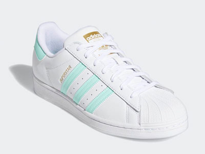 "全新adidas Superstar ""Clear Mint""薄荷绿配色即将发售"