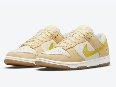 "全新Nike Dunk Low ""Lemon Drop""柠檬配色板鞋曝光"