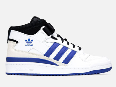 "adidas Forum Mid""Royal Blue""白蓝配色篮球鞋发售"
