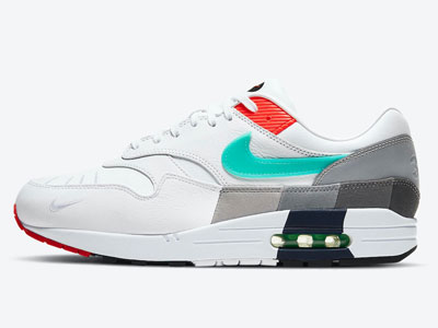 2021全新Nike Air Max 1「Evolution Of Icons」鞋款官图曝光