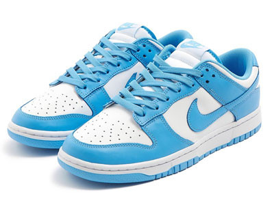 全新Nike Dunk Low「University Blue」北卡蓝低帮鞋款曝光