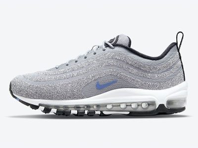"新款耐克水晶鞋Nike Air Max 97 Swarovski ""Polar Blue""即将发售"